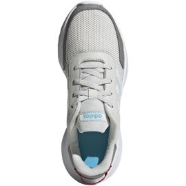 Buty adidas Tensaur Run K Jr EG4130 beżowy czerwone szare 1