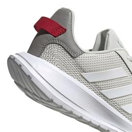 Buty adidas Tensaur Run K Jr EG4130 beżowy czerwone szare 3