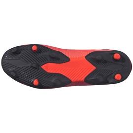 Buty piłkarskie adidas Nemeziz 19.3 Ll Fg EH1092 pomarańczowe pomarańczowe 6