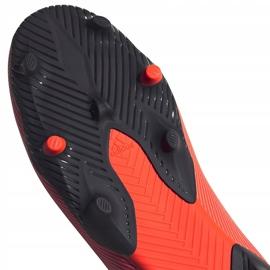 Buty piłkarskie adidas Nemeziz 19.3 Ll Fg EH1092 pomarańczowe pomarańczowe 5