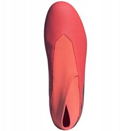 Buty piłkarskie adidas Nemeziz 19.3 Ll Fg EH1092 pomarańczowe pomarańczowe 1