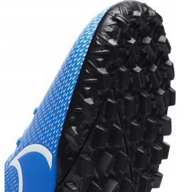 Buty piłkarskie Nike Mercurial Superfly 7 Academy Tf AT7978 414 niebieskie wielokolorowe 4