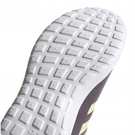 Buty damskie adidas Lite Racer Cln fioletowe EG3147 szare 5