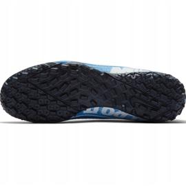 Buty piłkarskie Nike Mercurial Superfly 7 Academy Tf AT7978 414 niebieskie wielokolorowe 5