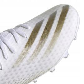 Buty piłkarskie adidas X GHOSTED.3 Mg FW3543 białe białe 3