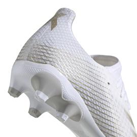 Buty piłkarskie adidas X GHOSTED.3 Mg FW3543 białe białe 4