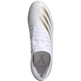 Buty piłkarskie adidas X GHOSTED.3 Mg FW3543 białe białe 1