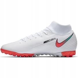 Buty piłkarskie Nike Mercurial Superfly 7 Academy Tf AT7978 163 białe białe 1
