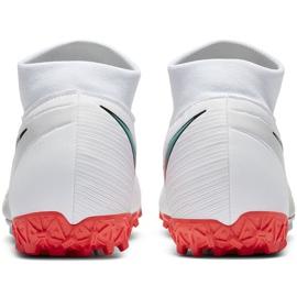 Buty piłkarskie Nike Mercurial Superfly 7 Academy Tf AT7978 163 białe białe 5