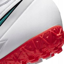 Buty piłkarskie Nike Mercurial Superfly 7 Academy Tf AT7978 163 białe białe 7