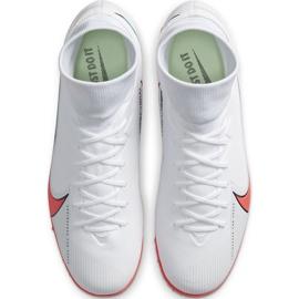 Buty piłkarskie Nike Mercurial Superfly 7 Academy Tf AT7978 163 białe białe 4