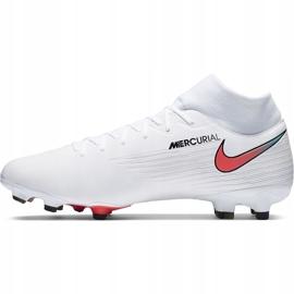 Buty piłkarskie Nike Mercurial Superfly 7 Academy FG/MG AT7946 163 białe białe 2