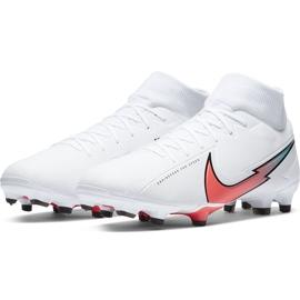 Buty piłkarskie Nike Mercurial Superfly 7 Academy FG/MG AT7946 163 białe białe 3