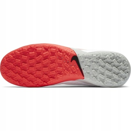 Buty piłkarskie Nike Tiempo Legend 8 Academy Tf AT6100 163 białe białe 7