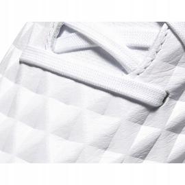Buty piłkarskie Nike Tiempo Legend 8 Academy Tf AT6100 163 białe białe 5