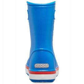 Crocs kalosze dla dzieci Crocband Rain Boot Kids niebieskie 205827 4KD 4