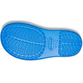Crocs kalosze dla dzieci Crocband Rain Boot Kids niebieskie 205827 4KD 5