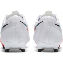 Buty piłkarskie Nike Mercurial Vapor 13 Academy FG/MG AT5269 163 białe białe 5