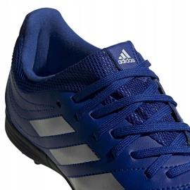 Buty piłkarskie adidas Copa 20.3 Tf Junior EH0915 niebieskie niebieskie 4