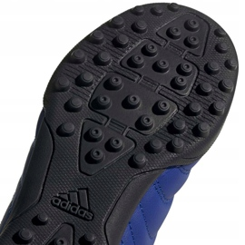 Buty piłkarskie adidas Copa 20.3 Tf Junior EH0915 niebieskie niebieskie 5