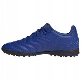 Buty piłkarskie adidas Copa 20.3 Tf Junior EH0915 niebieskie niebieskie 2