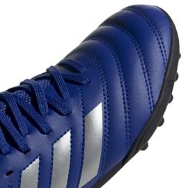 Buty piłkarskie adidas Copa 20.3 Tf Junior EH0915 niebieskie niebieskie 3