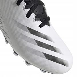 Buty piłkarskie adidas X GHOSTED.4 FxG Junior FW6798 białe białe 3