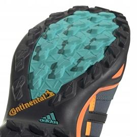 Buty męskie adidas Terrex Swift szaro-pomarańczowo-niebieskie FV6840 5
