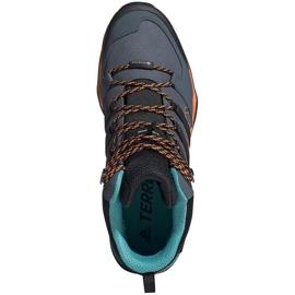Buty męskie adidas Terrex Swift szaro-pomarańczowo-niebieskie FV6840 1