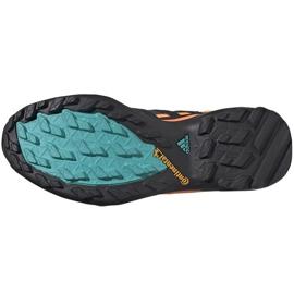 Buty męskie adidas Terrex Swift szaro-pomarańczowo-niebieskie FV6840 pomarańczowe szare wielokolorowe 4