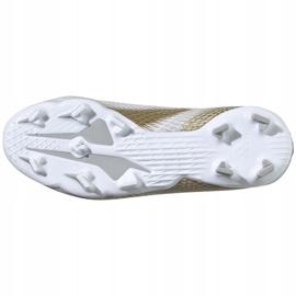 Buty piłkarskie adidas X GHOSTED.3 Fg Junior EG8210 białe białe 6