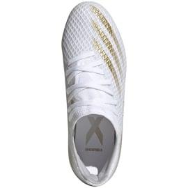 Buty piłkarskie adidas X GHOSTED.3 Fg Junior EG8210 białe białe 1