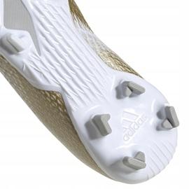Buty piłkarskie adidas X GHOSTED.3 Fg Junior EG8210 białe białe 5