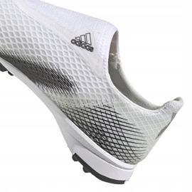 Buty piłkarskie adidas X GHOSTED.3 Ll Tf Junior EG8150 białe ['biały'] 4