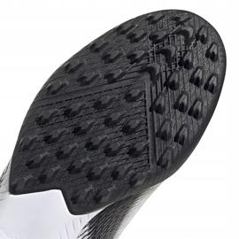 Buty piłkarskie adidas X GHOSTED.3 Ll Tf EG8158 białe białe 5