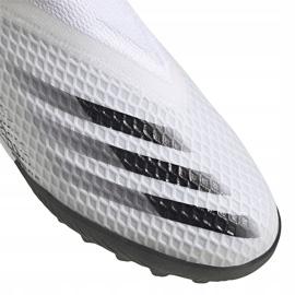 Buty piłkarskie adidas X GHOSTED.3 Ll Tf Junior EG8150 białe ['biały'] 3