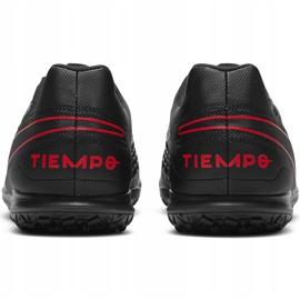 Buty piłkarskie Nike Tiempo Legend 8 Club Tf AT6109 060 czarne czarne 4