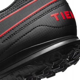 Buty piłkarskie Nike Tiempo Legend 8 Club Tf AT6109 060 czarne czarne 6