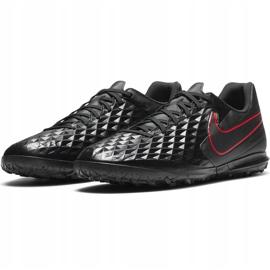 Buty piłkarskie Nike Tiempo Legend 8 Club Tf AT6109 060 czarne czarne 3
