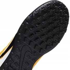 Buty piłkarskie Nike Mercurial Superfly 7 Club Tf Junior AT8156 801 żółte pomarańczowe 5