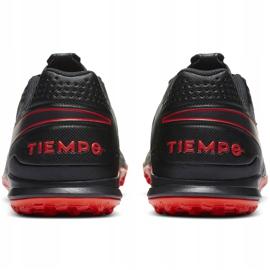 Buty piłkarskie Nike Tiempo Legend 8 Academy Tf AT6100 060 czarne czarne 4