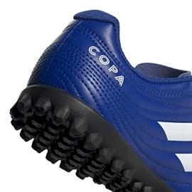 Buty piłkarskie adidas Copa 20.4 Tf EH0931 niebieskie niebieskie 3