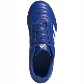 Buty piłkarskie adidas Copa 20.4 Tf EH0931 niebieskie niebieskie 1