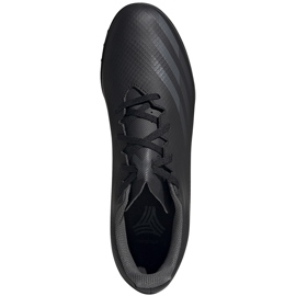 Buty piłkarskie adidas X GHOSTED.4 Tf EG8236 czarne czarne 1