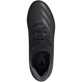 Buty piłkarskie adidas X GHOSTED.3 Fg Junior FW3545 czarne czarne 1