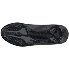 Buty piłkarskie adidas X GHOSTED.3 Fg Junior FW3545 czarne czarne 6