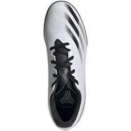 Buty piłkarskie adidas X GHOSTED.4 Tf FW6789 białe białe 1