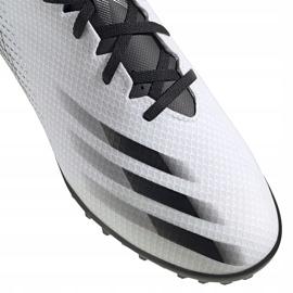 Buty piłkarskie adidas X GHOSTED.4 Tf FW6789 białe białe 3