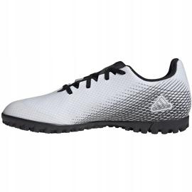Buty piłkarskie adidas X GHOSTED.4 Tf FW6789 białe białe 2