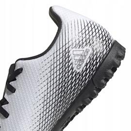 Buty piłkarskie adidas X GHOSTED.4 Tf FW6789 białe białe 4